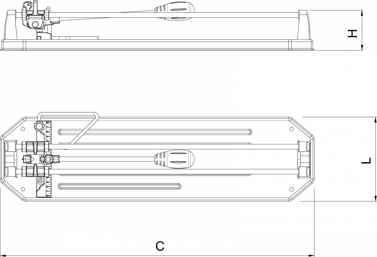 Cortador de Piso Cortag HD-500 - Casa Sul Materiais e Acabamento