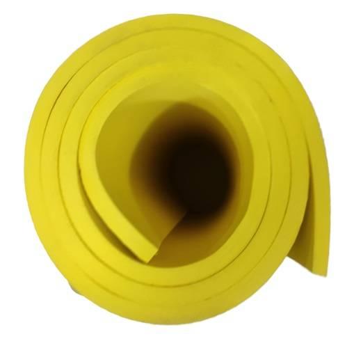 Tapete Yoga Amarelo - Casa Sul Materiais e Acabamento