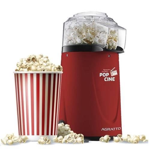 Pipoqueira Elétrica Pop Cine PP-01 Agratto 127.V - Casa Sul Materiais e Acabamento