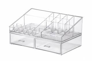 Kit Organizador de Cosméticos Paramount 1094 Cristal