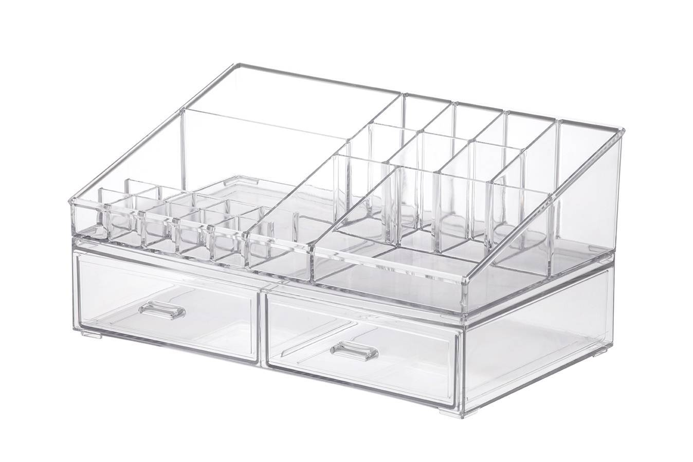 Kit Organizador de Cosméticos Paramount 1094 Cristal - Casa Sul Materiais e Acabamento