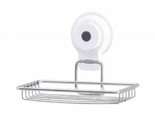 Saboneteira com Ventosa por Sucção Pratic Fix 1235