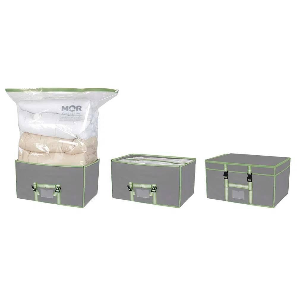 Caixa Com Organizador a Vácuo Mor  90x38x1.cm - Casa Sul Materiais e Acabamento
