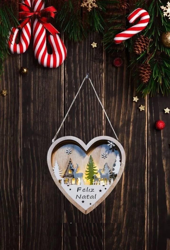 Guirlanda Natalina Led Taschibra Coração Encantado - Casa Sul Materiais e Acabamento