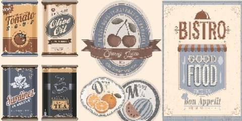Revestimento de parede Cejatel 31x59.cm Food Mix 4 - Casa Sul Materiais e Acabamento