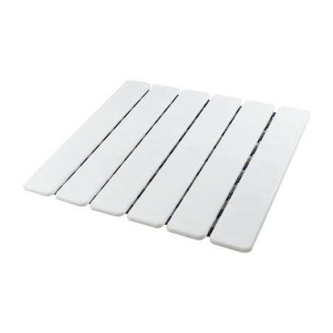 Estrado para Banheiro Cobalto Plastic Branco - Casa Sul Materiais e Acabamento