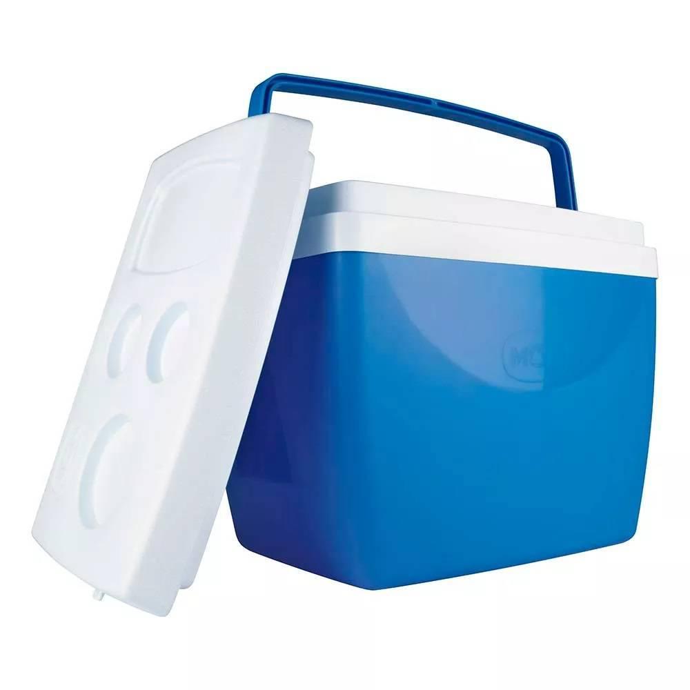 Caixa Térmica Mor 34.L Azul - Casa Sul Materiais e Acabamento