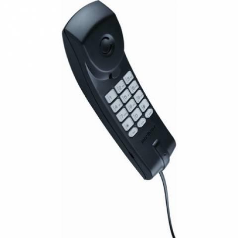 Telefone Gondola com Fio Intelbras  TC20 Preto - Casa Sul Materiais e Acabamento