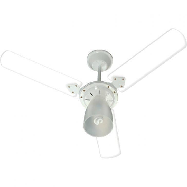 Ventilador Teto Tramontana Stilo Branco 3 Pás Transp. 127.v - Casa Sul Materiais e Acabamento