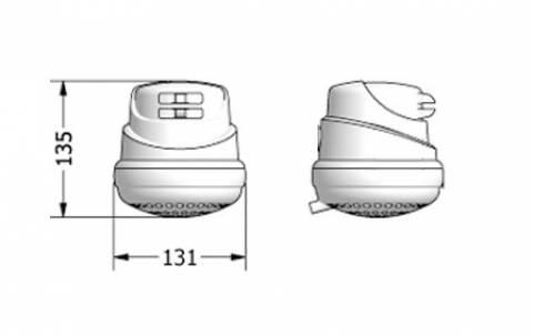 Chuveiro Lorenducha 4 Temperaturas Lorenzetti 127v - 5500w - Casa Sul Materiais e Acabamento