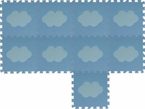 Tapete de Atividade em EVA Nuvem - 09 peças  - Casa Sul Materiais e Acabamento