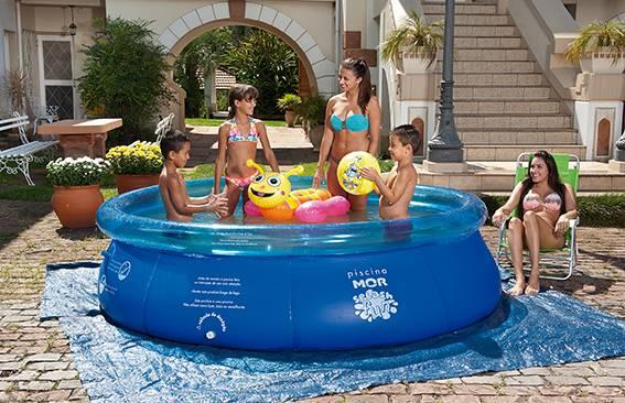 Piscina Splash Fun Mor 001050 3,400.L  - Casa Sul Materiais e Acabamento