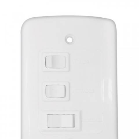 Ventilador Teto Ventisol Prisma Branco 3 pás Branca 127.v - Casa Sul Materiais e Acabamento