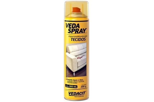 Veda Spray Impermeabilizante para Tecidos Vedacit 300.ml - Casa Sul Materiais e Acabamento