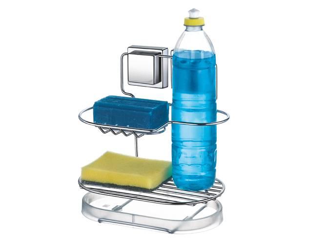 Porta Detergente com Ventosa por Sucção Arthi - Casa Sul Materiais e Acabamento