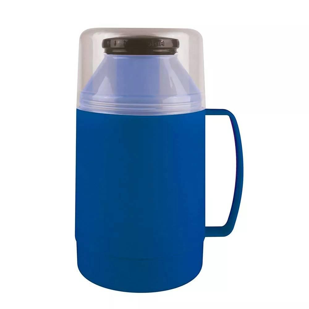 Garrafa Térmica Mor Indie 500.ml Azul - Casa Sul Materiais e Acabamento