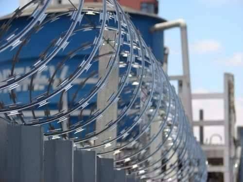 Kit Cerca Concertina Protetor Perimetral  - Casa Sul Materiais e Acabamento
