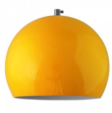 Pendente Vertical Iluminação Big Ball Amarelo - Casa Sul Materiais e Acabamento