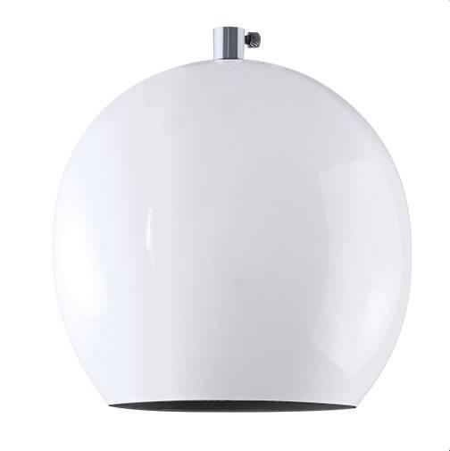 Pendente Vertical Iluminação Medium Ball Branco - Casa Sul Materiais e Acabamento