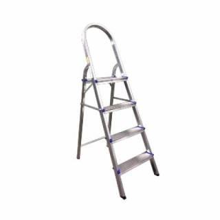 Escada Residencial Alumínio Real 04 Degraus