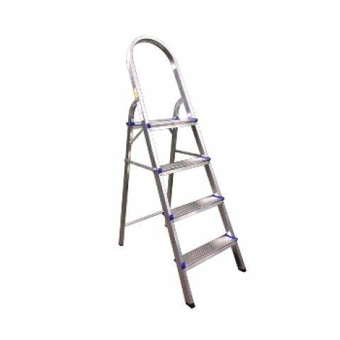 Escada Residencial Alumínio Real 04 Degraus  - Casa Sul Materiais e Acabamento