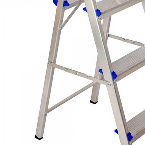 Escada Residencial Alumínio Real 03 Degraus  - Casa Sul Materiais e Acabamento