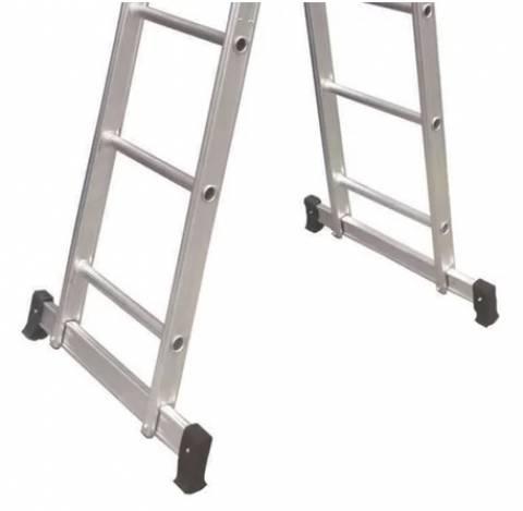 Escada Articulada Alumínio 3x4 com 12 Degraus - Casa Sul Materiais e Acabamento