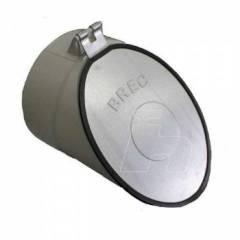 Válvula Retenção Esgoto Com Ponteira Metal 4''-brec