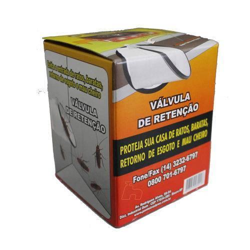 Válvula Retenção Esgoto Com Ponteira Metal 4''-brec - Casa Sul Materiais e Acabamento