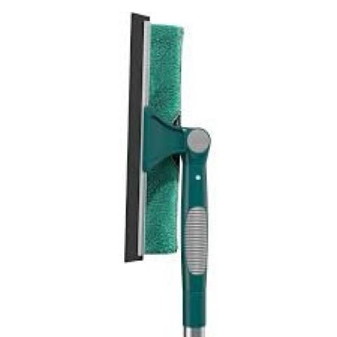 Limpa Vidros Extensível Com Rodinho Emborrachado Flashlimp - Casa Sul Materiais e Acabamento