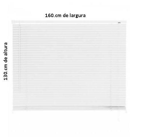 Persiana PVC Primalu 25.mm 160 x 130.cm Bege - Casa Sul Materiais e Acabamento