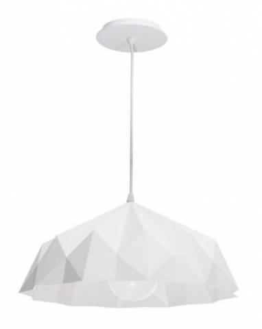 Pendente Baxton Origami 40.cm Branco - Casa Sul Materiais e Acabamento