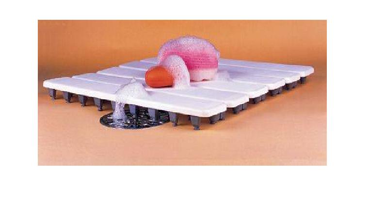 Estrado para Banheiro Cobalto Plastic Cinza - Casa Sul Materiais e Acabamento