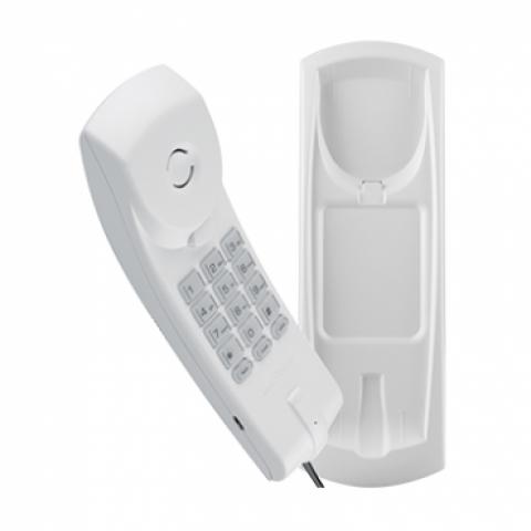 Telefone Gondola com Fio Intelbras  TC20 Cinza Ártico - Casa Sul Materiais e Acabamento