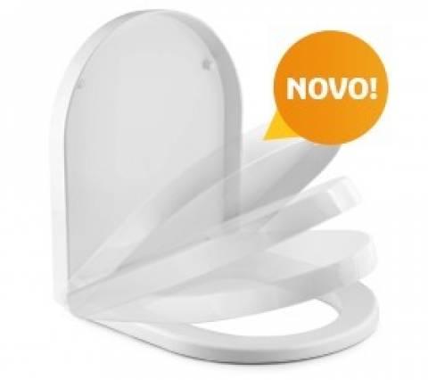 Assento Sanitário Tigre Smart Vogue Plus Branco - Casa Sul Materiais e Acabamento