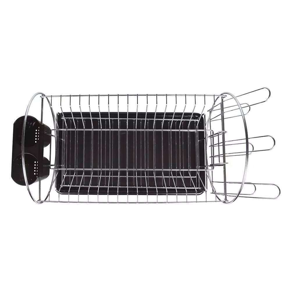 Escorredor de Louças Maggiore Mor 19 pratos Preto  - Casa Sul Materiais e Acabamento