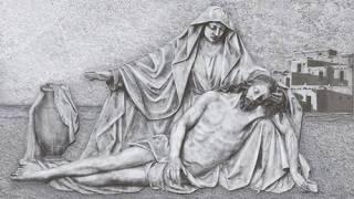 Revestimento de parede Majopar 32x57.cm HD4055 Jesus e Maria