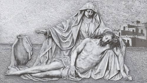 Revestimento de parede Majopar 32x57.cm HD4055 Jesus e Maria - Casa Sul Materiais e Acabamento
