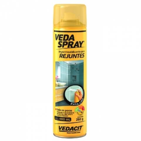 Veda Spray Impermeabilizante para Rejuntes Vedacit 300.ml - Casa Sul Materiais e Acabamento