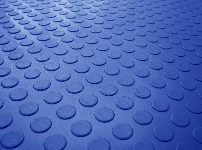 Piso Laminado Moeda á metro 130.cm Azul Royal - Casa Sul Materiais e Acabamento