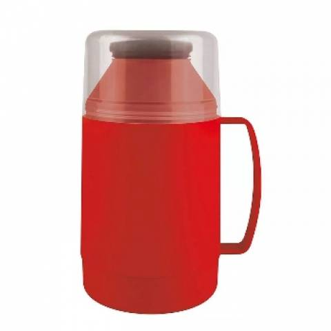 Garrafa Térmica Mor Indie 500.ml Vermelha - Casa Sul Materiais e Acabamento