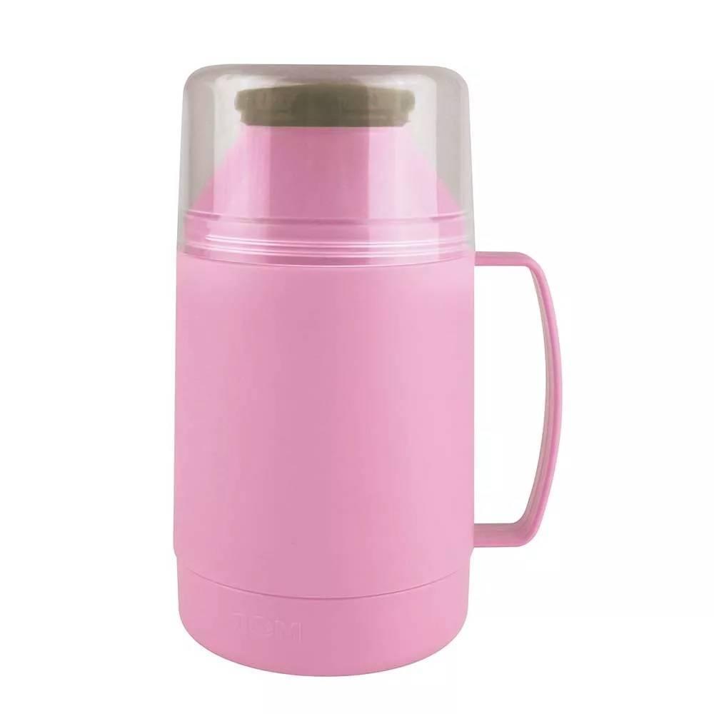 Garrafa Térmica Mor Indie 500.ml Rosa - Casa Sul Materiais e Acabamento