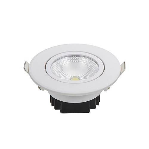 Spot Cob Redondo Direcionável Avant 5.w 6500k Luz Branca - Casa Sul Materiais e Acabamento