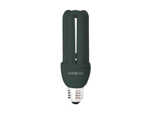 Lâmpada Compacta 3u Luz Negra Ourolux  20.w  127.v - Casa Sul Materiais e Acabamento