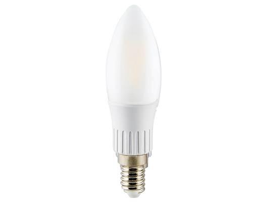 Lâmpada Filamento Superled Ourolux  3.w E14 6500K Fosco Luz  - Casa Sul Materiais e Acabamento