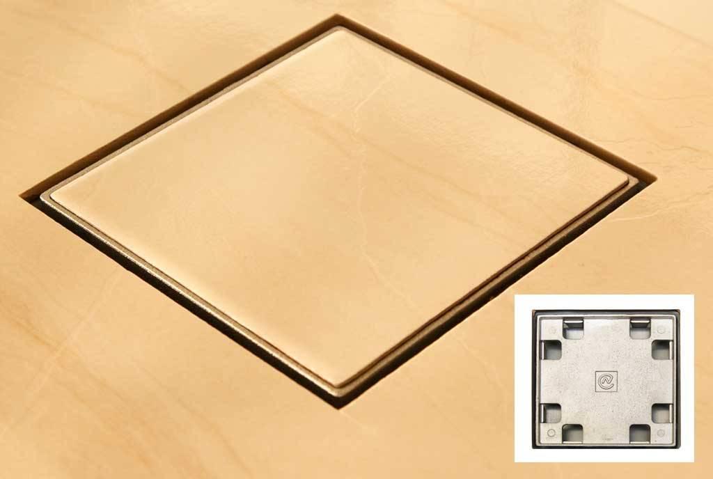 Ralo Invisível Costa Navarro 15x15 - Casa Sul Materiais e Acabamento