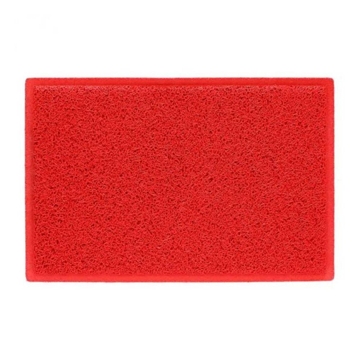 Tapete Capacho Vinil 60x40.cm Vermelho - Casa Sul Materiais e Acabamento