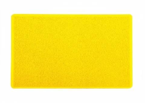 Tapete Capacho Vinil 60x40.cm Amarelo - Casa Sul Materiais e Acabamento
