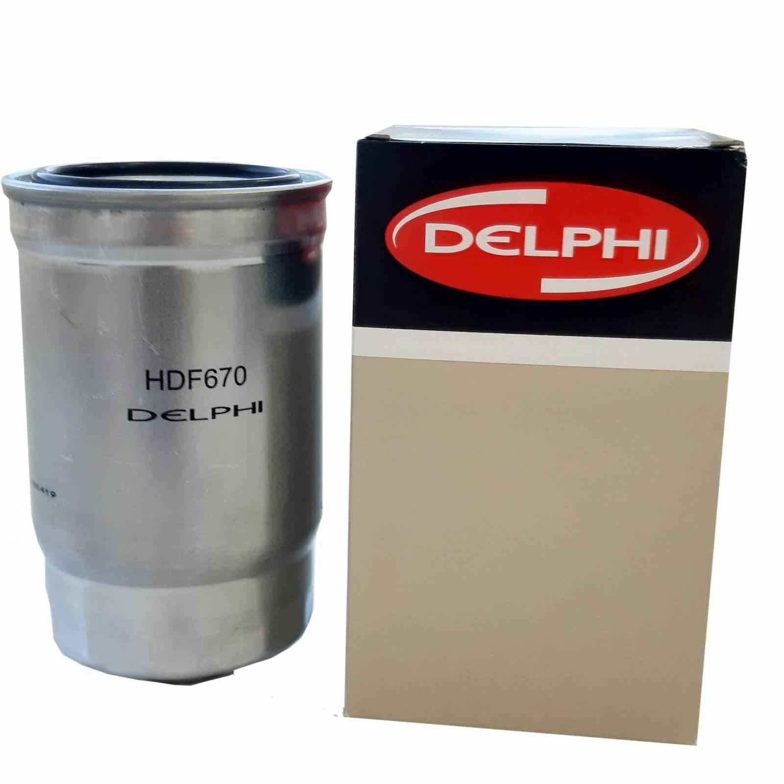 Filtro Blindado para combustível HDF670 HR e Kia bongo - Casa do Injetor