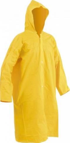 Capa de Chuva com Forro Amarelo PRO TamG Safety - MATERGI MATERIAIS DE CONSTRUÇÃO
